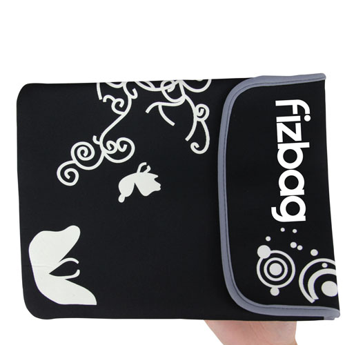 12 Inch Soft Flower Tablet Pouch