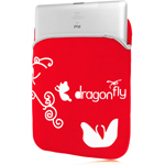 10 Inch Soft Neoprene Butterfly Tablet Bag