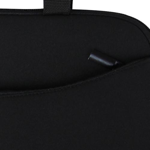 10 Inch Handle Neoprene Zippered Tablet Bag Image 9