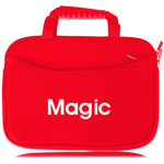 10 Inch Handle Neoprene Zippered Tablet Bag
