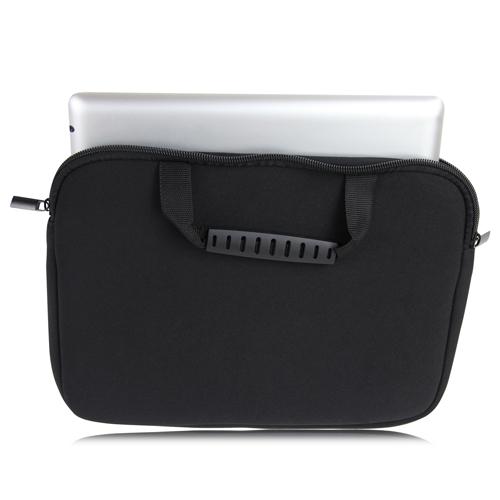 10 Inch Handle Neoprene Zippered Tablet Bag Image 3