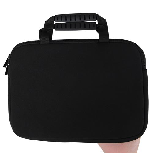 10 Inch Handle Neoprene Zippered Tablet Bag Image 5