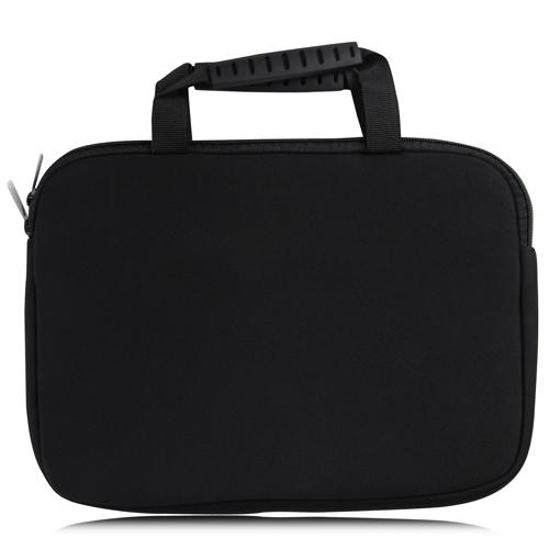 10 Inch Handle Neoprene Zippered Tablet Bag Image 6