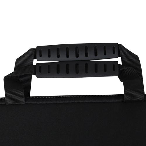 10 Inch Handle Neoprene Zippered Tablet Bag Image 7