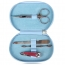 4-Piece Manicure Kit Zipper Case