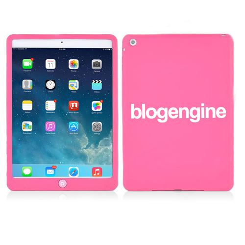 Stylish Soft Silicone iPad Case