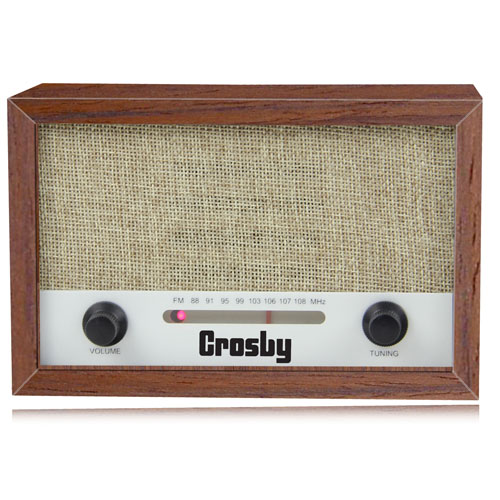 Vintage Retro Wooden Radio