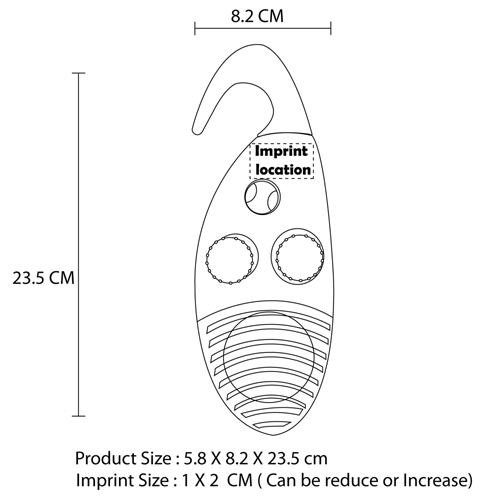 Portable Hanging Shower Radio