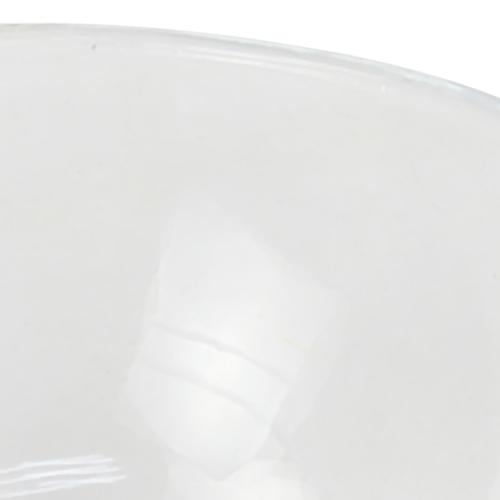 Small Sphere Cut Transparent Glass Bowl