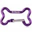 Dog Bone Shape Carabiner Keychain