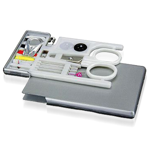 Rectangle Sewing Kit With Scissor