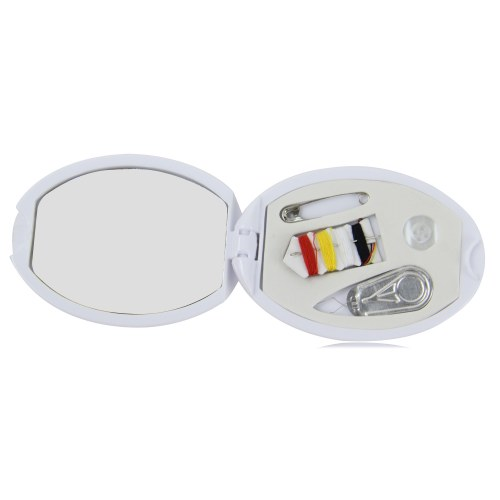 Travel Compact Sewing Kit With Mirror Image 1