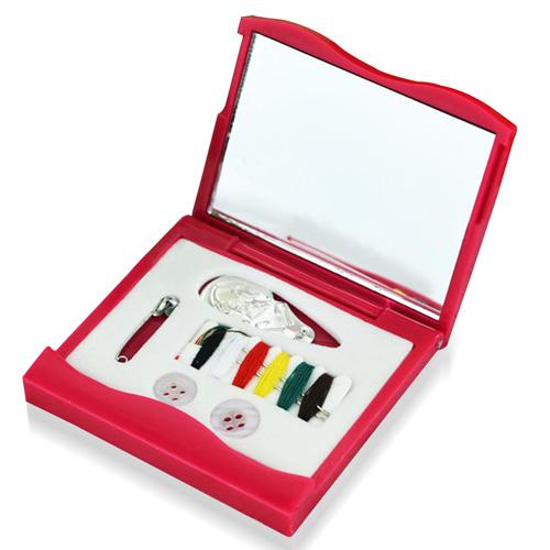 Pocket Mirror Sewing Kit