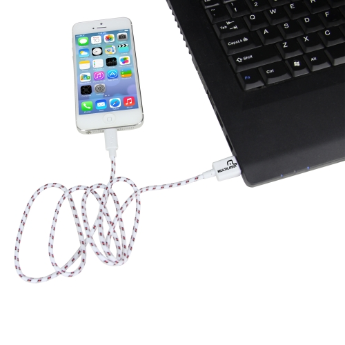 Braided Wire Lightning USB Cable