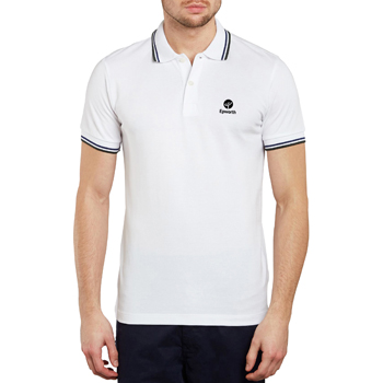 Tipped Collar Polo Shirt