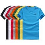Poly Round Short Sleeve Mens T-Shirt