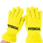 Cute Velvet Gloves