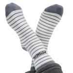Long Striped Cotton Socks