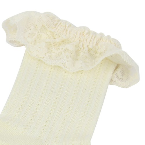Womens Liner Eyelet Lace Socks Image 8
