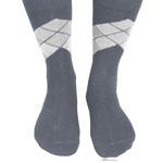 Warm Plaid Multi Color Socks
