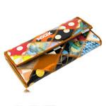 Luxury Multi-Color Ladies Leather Wallet