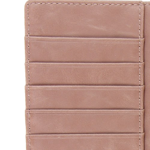 Luxury Metal Corners Leather Wallet