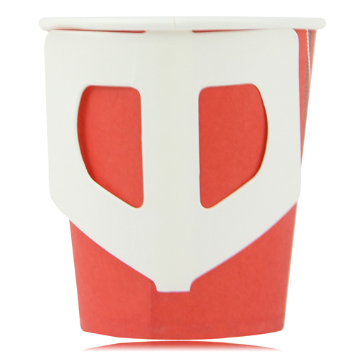 7 Oz Disposable Handle Paper Cup