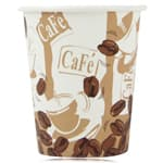 8 Oz Disposable Hot Drink Paper Cup