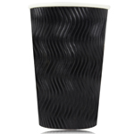 16 Oz Ripple Wrap Drinking Hot Cup