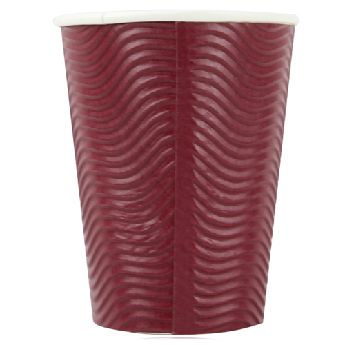 12 Oz Wave Ripple Hot Cup
