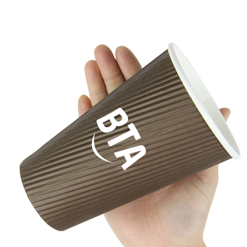 16 OZ Corrugated Disposable Cup Image 5