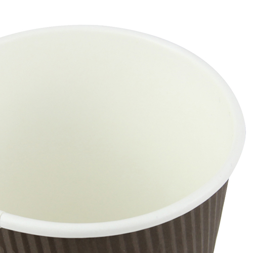 16 OZ Corrugated Disposable Cup Image 6