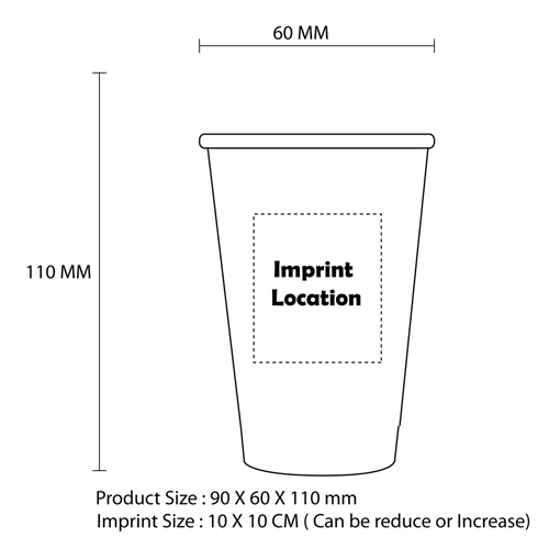12 OZ Disposable Party Paper Cup