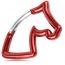 Horse Head Carabiner Keychain Image 5