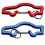 Car Shaped Carabiner Keychain