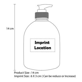 Antibacterial Hand Sanitizer 500G Bottle
