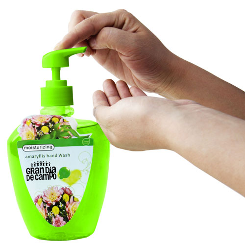 500ML Liquid Hand Sanitizer Bottle