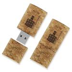 1GB Wine Cork USB Flash Drive