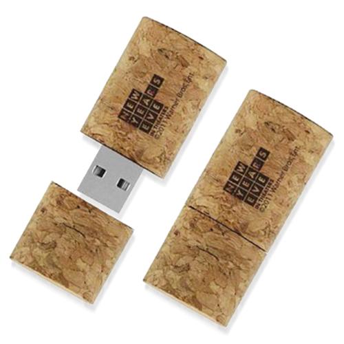16GB Wine Cork USB Flash Drive