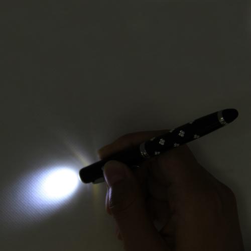 4 in 1 Stylus LED Laser Pen