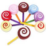 Charming Hand Swirl Lollipop Towels