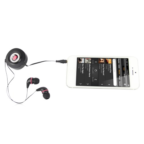 Hi-Fi Retractable Earphones Image 3