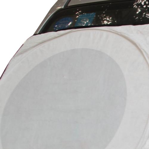 Double Circles Car Front Sunshade