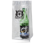 Transparent Wine Ice Pack Bag