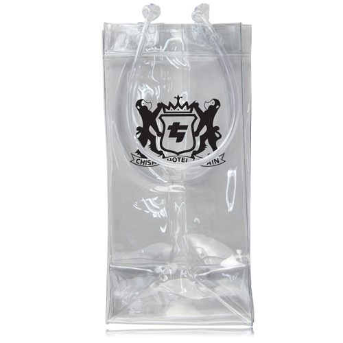 Transparent Wine Ice Pack Bag Image 6