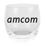 Color Rounded Glass Cup