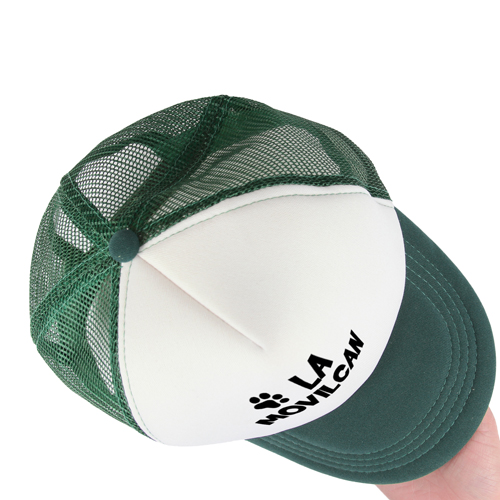 Two Tone Trucker Mesh Back Cap Image 5