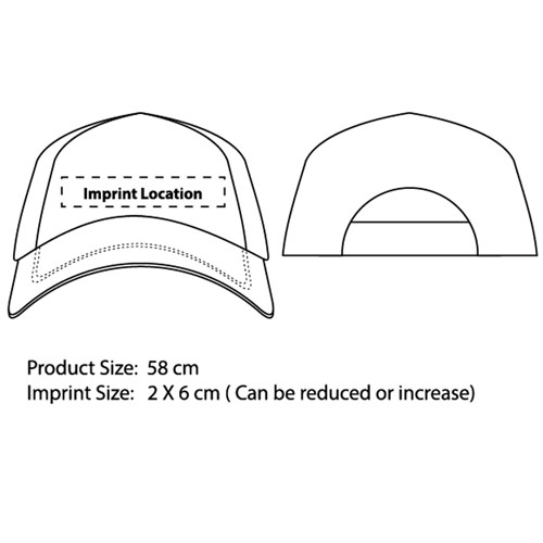 Curved Peak Stylish Cap