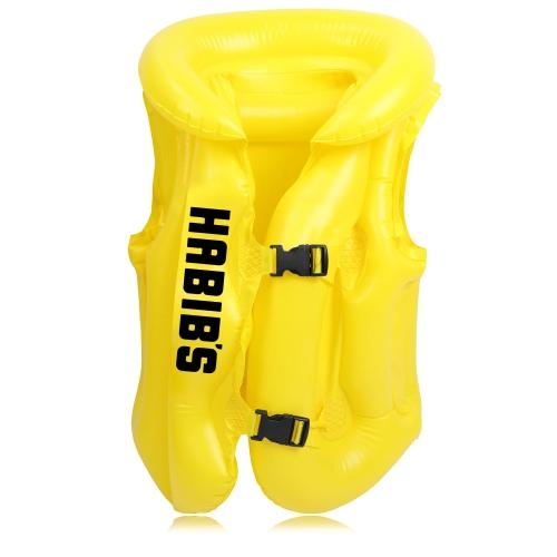 Children Swimming Inflatable Life Vest Jacket