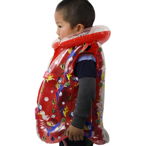 Inflatable Swimming Jacket Life Vest